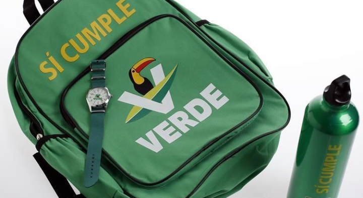 kit escolar partido verde pvem