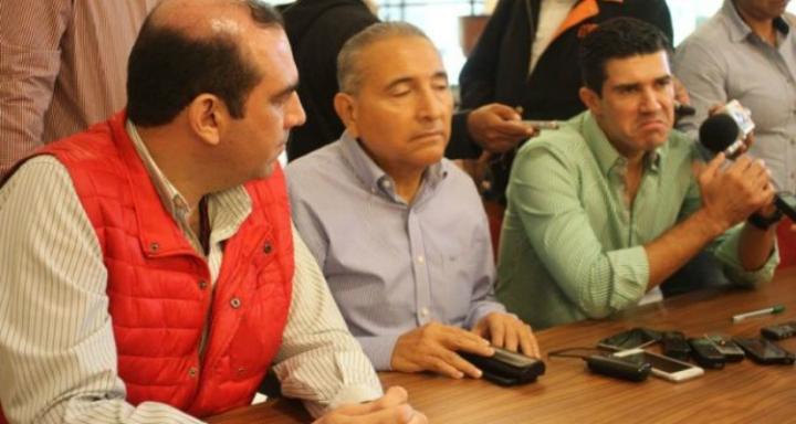 Miguel Ángel Valdivia y Federico Madrazo